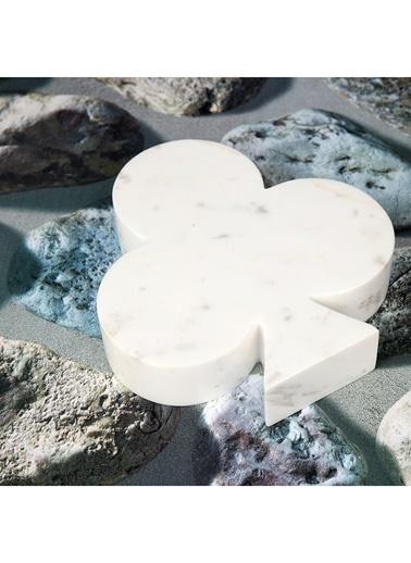 3Wdesign El Yapımı Mermer Sinek Obje Beyaz